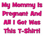 Mommy Pregnant girl pink