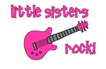 Little Sisters Rock! pink guitar