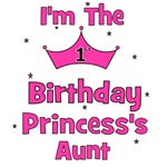 1st Birthday Princess's Aunt!