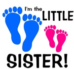 Little Sister Baby Footprints