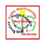 Merry Christmas in Seven Languages, Little Tree
