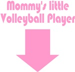 Mom's Little Volleyball Player Pink