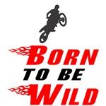 Biker Baby Born to be Wild Moto