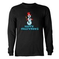 VolleyChick Happy VolleyDays Snowman
