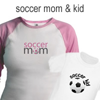 soccer mom and kid