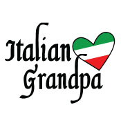 italian grandpa t-shirts
