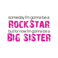 big sister rockstar t-shirts and gifts