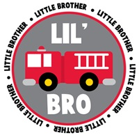 Little Brother Fire Truck