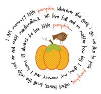 Mommy's Pumpkin Poem