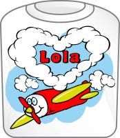 Love Lola Cute Airplane