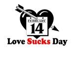 Love Sucks Valentine's T-Shirt