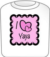 I Love YaYa T-Shirt