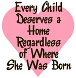 EVERY CHILD DESERVES A HOME