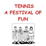 a funny tennis joke n gifts and t-shirts.