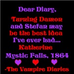 Katherine's Diary, red