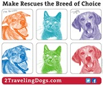 Make Rescues The Breed of Choice pop!