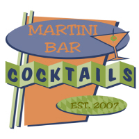 Retro Martini Bar | Cocktail Culture Tiki Lounge T-shirts & Gifts