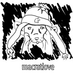 MacRatLove Black and White