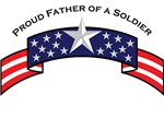 Proud Father of a Soldier, Stars & Stripes©