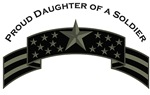 Proud Daughter of a Soldier, Stars & Stripes©, ACU