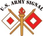 Signal Branch Insignia, Script