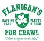 Flanigan's Irish Pub Crawl