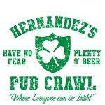 Hernandez's Irish Pub Crawl