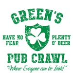 Green's Irish Pub Crawl