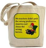 Amusing Teacher Tote Bags