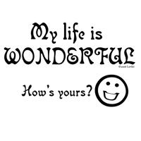 Life is Wonderful!