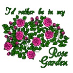 I'd Rather Be in My (Pink) Rose Garden