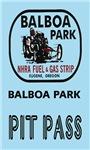 Balboa Park Pit Pass