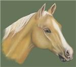 HORSES - 'THE PALOMINO'