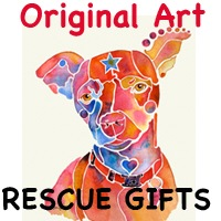 PET RESCUE ORIGINAL ARTWORK
