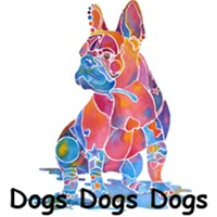 DOGS MANY BREEDS ORIGINAL ARTWORK