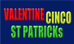 VALENTINE'S, CINCO, ST PATRICK'S T-Shirts & Items