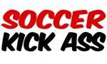 Soccer Kick Ass shirts