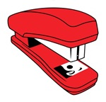 Red Stapler