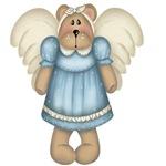 Blue Bear Angel