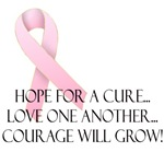 Hope for a Cure Breast Cancer PR Awareness
