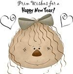Prim Doll - Happy New Year