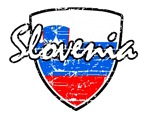 Slovenian distressed flag