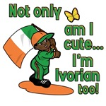 Not only am I cute I'm Ivorian too!