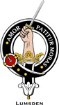 Lumsden Clan Crest Badge