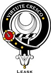 Leask Clan Crest Badge