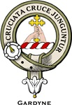 Gardyne Clan Crest Badge