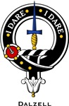 Dalzell Clan Crest Badge