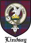 Lindsay Clan Crest Tartan