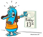 Superstitious Doggy - Friday the 13th