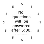 Stop with the HR questions